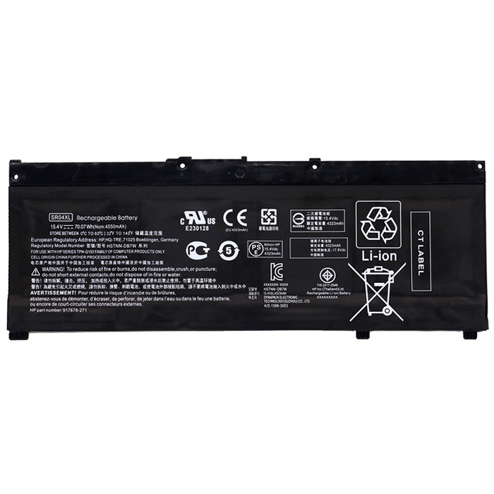 OEM Laptop Battery Replacement for  HP SR04XL