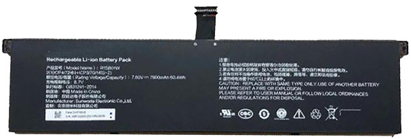 OEM Laptop Battery Replacement for  XIAOMI R15B01W